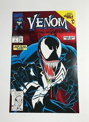 Venom Lethal Protector 1 Comic Book Marvel February 1993