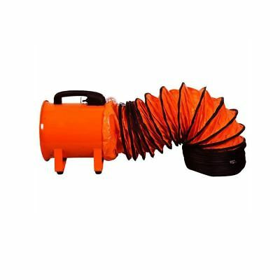"Flexible Portable Blower Duct 16"" 10Mtrs"