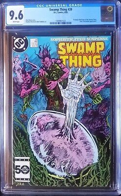 Swamp Thing (1982 2nd Series) #39  CGC 9.6