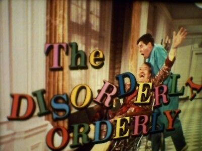 The Disorderly Orderly. 1964.  Jerry Lewis. 16Mm Feature Film.  3 Reels.