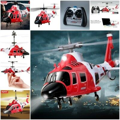 Mini Infrared RC Helicopter Coast Guard Rescue 3.5CH Gyro Intelligent R/C System