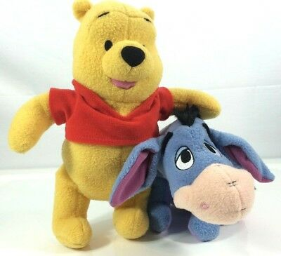 86c7e36f752fe Fisher Price Disney Winnie The Pooh   Eeyore Plush Soft Toys (collectables)
