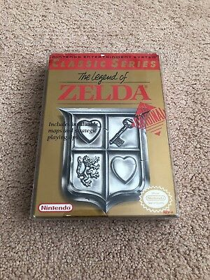 The Legend of Zelda (Nintendo Entertainment System, 1987) CIB