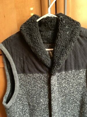 armani exchange Man Black Vest Size M