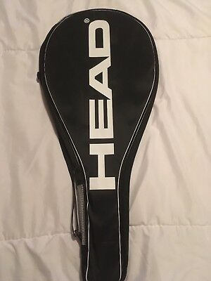 Head Tennis Racket Cover Holder Bag Carrier Full Size With Zip