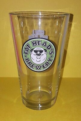 Fat Heads Brewery Pint Beer Glass
