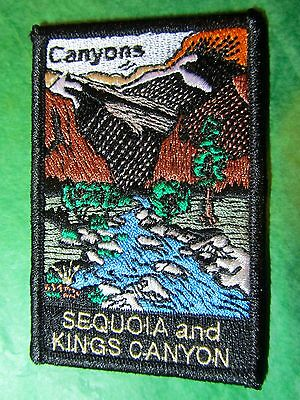 Sequoia Kings Canyon National Park Embroidered Patch California Souvenir (232)