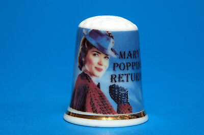 Mary Poppins Returns (The New Movie for 2019) China Thimble B/156
