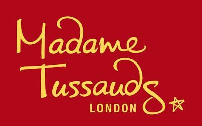 2 x Madame Tussauds Tickets 14th February 2019 entry time 12.45