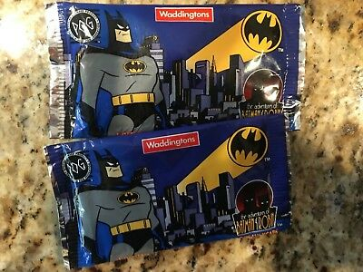 NEW Waddingtons The Adventures of Batman & Robin Trading Cards, Two Cards