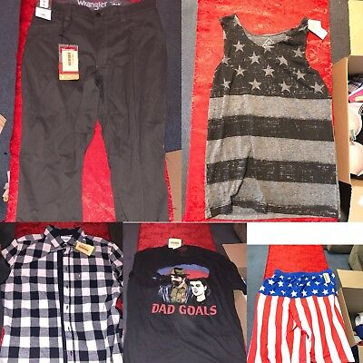 Reseller Lot Of 50 Pieces Of Brand New With Tags Clothing 400$+ Retail Value