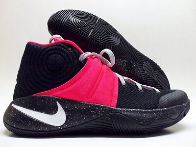 159660f638f0 NIKE KYRIE 2 Id Black infrared-White Size Men s 10  843253-991 ...