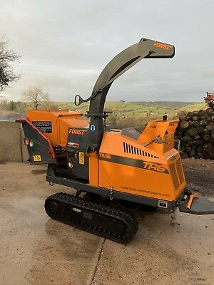 The Best Forst Tr6 6 Inch Tracked Diesel Wood Chipper Shredder Heavy Equipment, Parts & Attachments