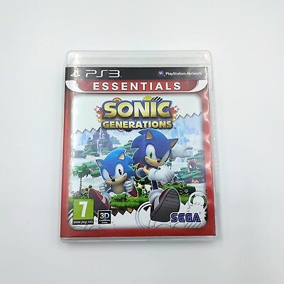 Sonic Generations Sony PlayStation 3 2011 Ps3 Game - PAL