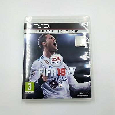 FIFA 18 Legacy Edition Sony PlayStation 3 Ps3 Game - PAL