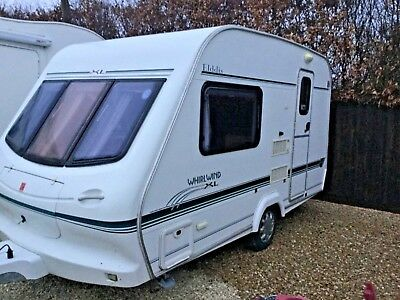 Elddis Whirlwind XL, With Full Awning And All accessories, *no reserve*