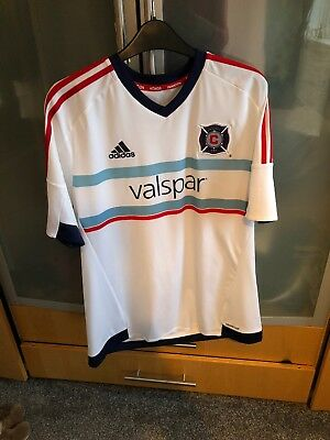 Mens Adidas Chicago Fire Football Shirt Size Large