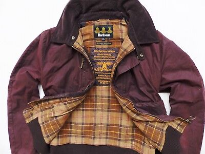 MEN'S JACKET BARBOUR BLOUSON WAX LIMITED EDITION BY TO KI TO s. XXL (XX-LARGE)