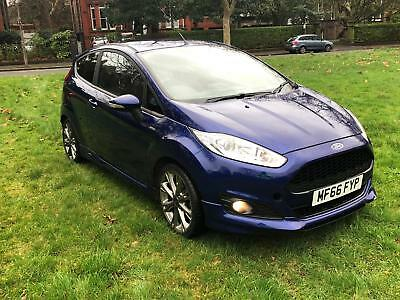 2016 66 Ford Fiesta St-Line 1.0 T EcoBoost Light Damaged Repaired Drive Away