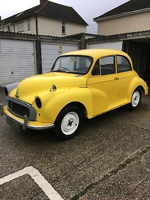 1967 Morris minor 1000 2 door salon with spare parts