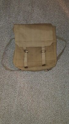 British P-08 1908 Large Pack With Straps