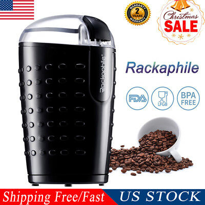 Electric Coffee Grinder Maker Stainless Blade Bean/Spice/Nut/Herb/Grain Grinding