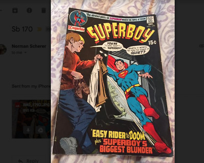 Superboy 170 - Dec 1970- Adv of Superman When He Was A Teen -  Fine