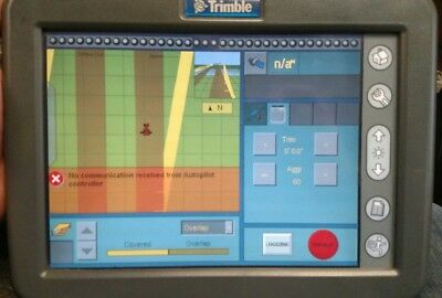Trimble Navagation Ag GPS Field manager Display Part #58270-09 FMD