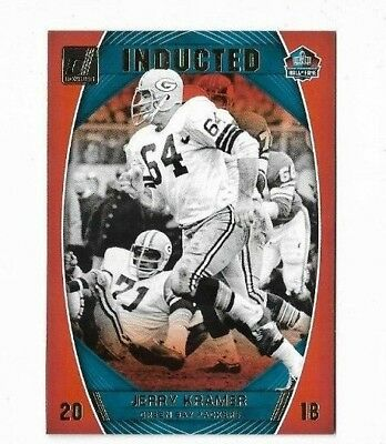 Jerry Kramer 2018 Donruss Football Inducted Packers (T)