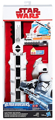 NEW Star Wars: The Last Jedi Bladebuilders Electronic Riot Baton Lights & Sounds