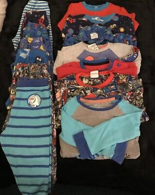 Baby Boy Bundle Pyjamas x 7(Age 1-18mths / 18mths -2 Years)