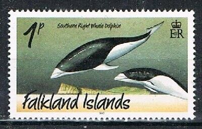 FALKLAND IS. 181113 - 2012 1c Whales & Dolphoms used