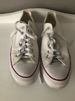 Converse Chuck Taylor All Star Classic Colour Low Top White (US 8/WOMENS 10)