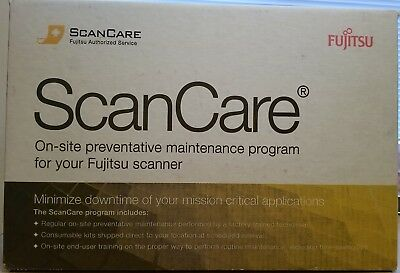 Fujitsu Fi-6800 / Fi-6400 Series Scancare Kit CG01000-530901 - New in Sealed Box