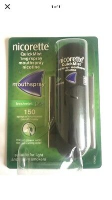 nicorette quickmist spray