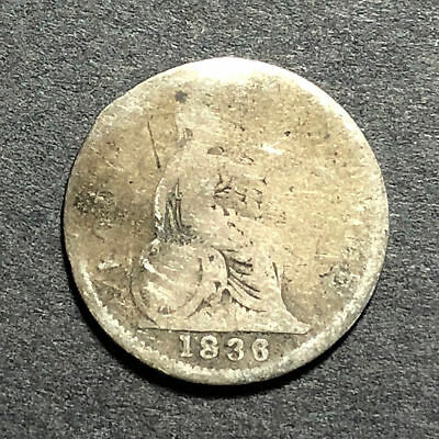 1836 British Fourpence