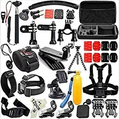 Cycle Bundle Set Sport Outdoor 51-in-1 Accessory Kit for GoPro Hero 5/4/3+/3/2/1