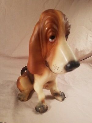 Vintage Breyer #326 Tricolored Basset Hound Dog Jolly Cholly USA