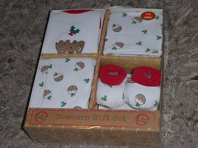 LILY & JACK - Cute Baby Boys Girls Christmas Set Outfit 0-3 Months NEW XMAS GIFT