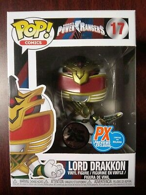 Funko Pop! Power Rangers Lord Drakkon PX Previews Exclusive Limited Edition