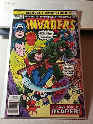 Invaders #10 VF- condition Huge auction going on now!