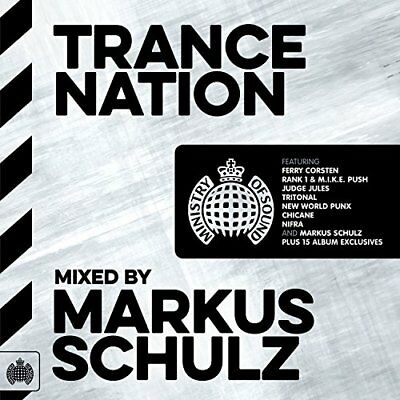 Trance Nation - Markus Schulz Various Artists Audio CD