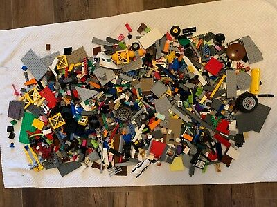 6 + Lbs Bulk Lot of Assorted Loose LEGO Pieces