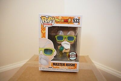 Funko POP Dragon Ball Specialty Series  Master Roshi!!! In Hand Ready to Ship!!!