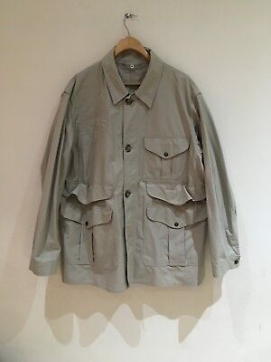 Filson lightweight cotton hunting shooting jacket in stone 46 R XL