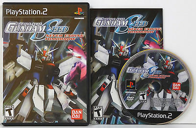 Mobile Suit Gundam Seed : Never Ending Tomorrow (2005) Sony Ps2 **complete**