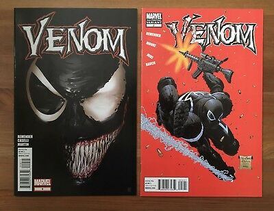 Venom 2 2nd print Red Variant Amazing 300 Homage Mcfarlane & 9 Lot  HTF NM