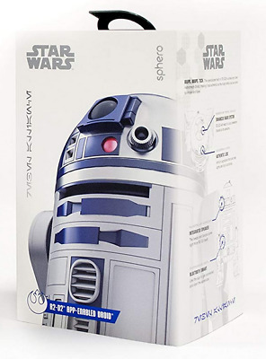 NEW Sphero Star Wars R2-D2 App-Enabled Astromech Holographic Sim Droid - NIB