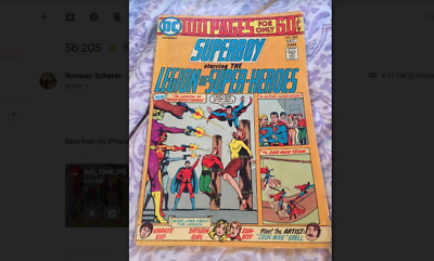 SUPERBOY 205,  Dec 1974  100 PAGE GIANT, MIKE GRELL ART - Very Good