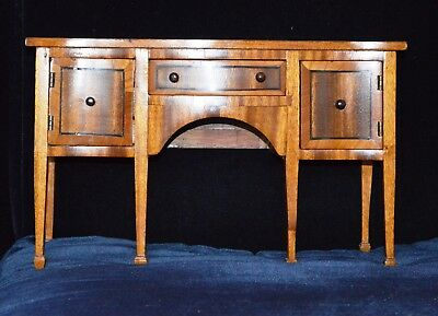 Antique Miniature Apprentice Piece Sideboard in the Sheraton Style